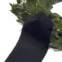 Funeral ribbon black