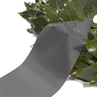 Funeral ribbon grey