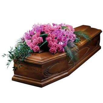 Admiration coffin arrangement