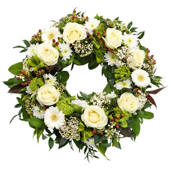 Classic Funeral Wreath