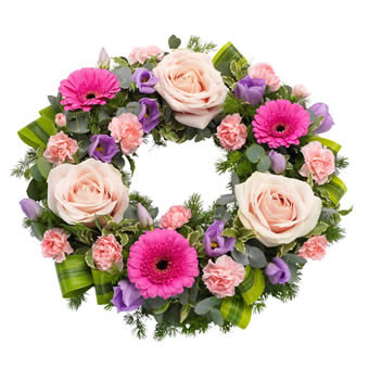 Pretty Funeral Wreath