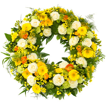 Fresh Funeral Wreath
