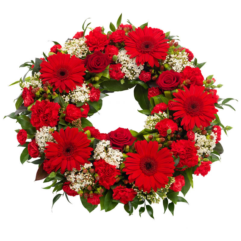 Classy Funeral Wreath