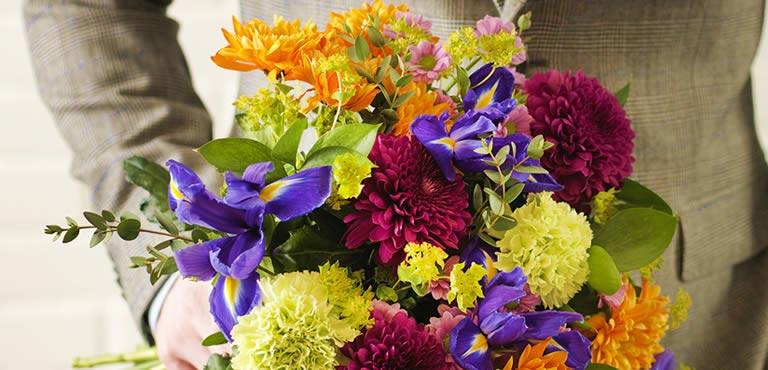 Blumen zum Jubiläum
