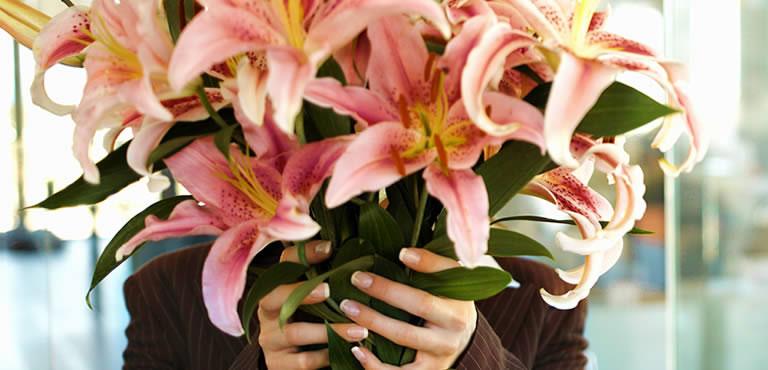 Blumen für Firmenfeiern