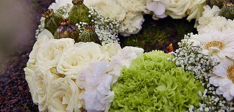 Send funeral wreaths online