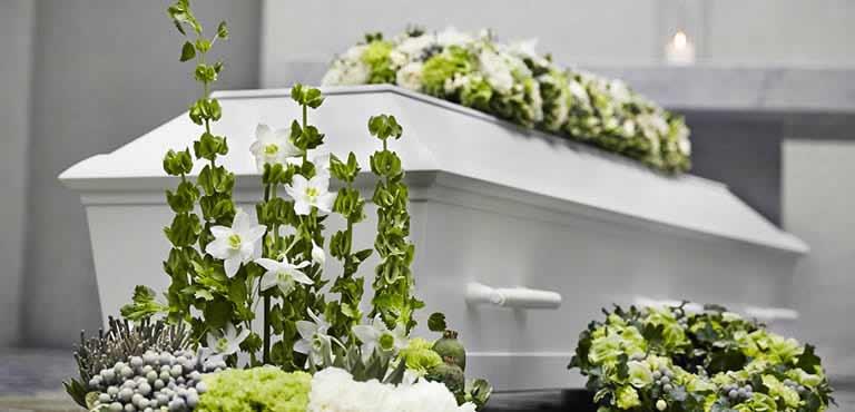 Send funeral arrangements online