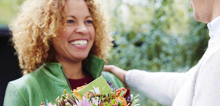 Geburtstagsblumen für sie