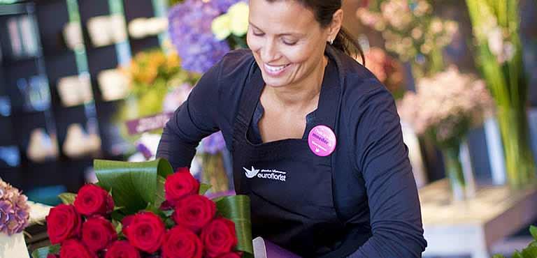 Lieferung durch Floristen