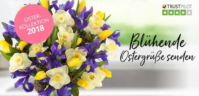 Blumenstrauß in Gelb und Weiß
