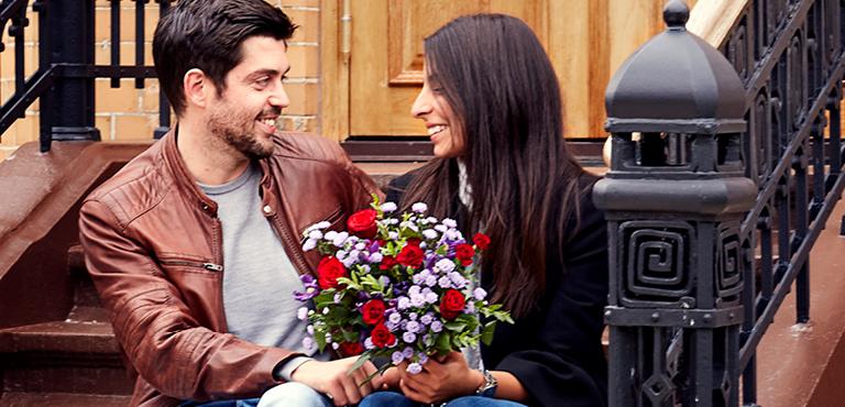 Liebe und Romantik Blumen