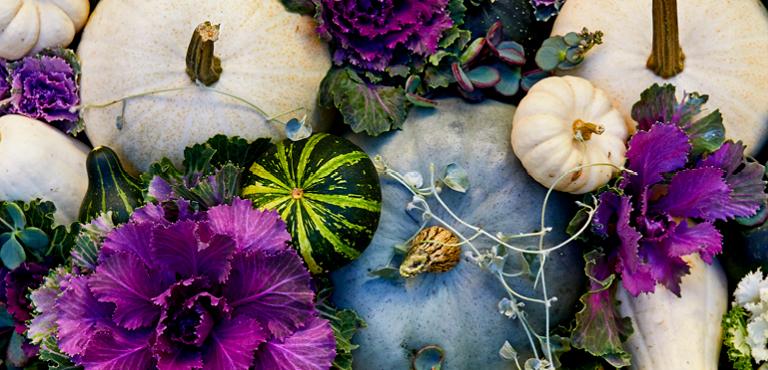 Blumenkreationen zu Halloween verschicken