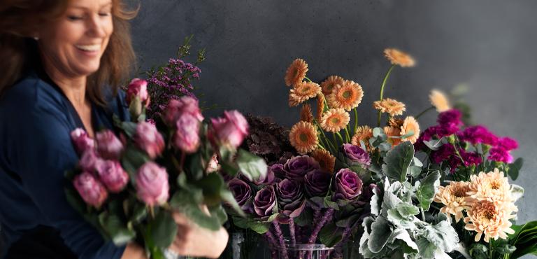 Floristen-Entwurf