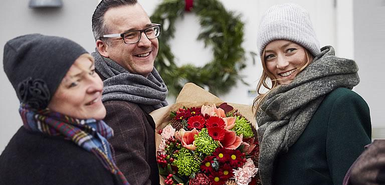 Weihnachtsblumen, weihnachtsstrauß
