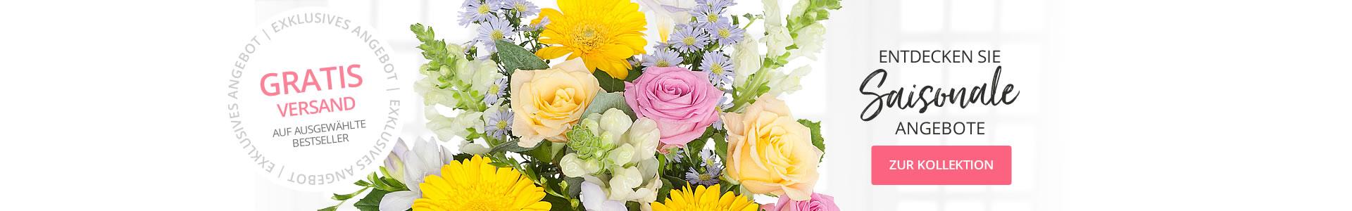 Gratis Blumenlieferung